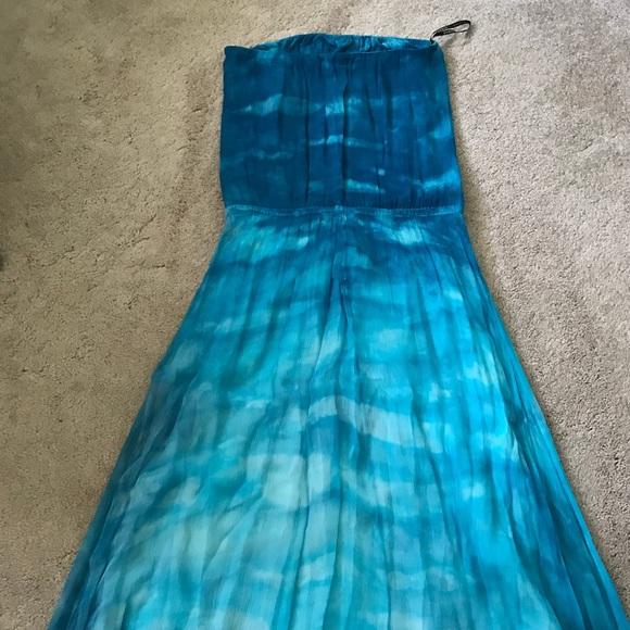 Teal Gypsy Dress